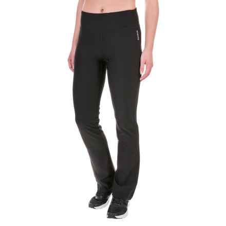 Reebok Lean Running Pants (For Women) in Black - Closeouts