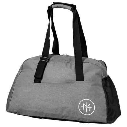Reebok Les Mills Lead and Go Grip Duffel Bag in Medium Grey/Solid Grey - Closeouts