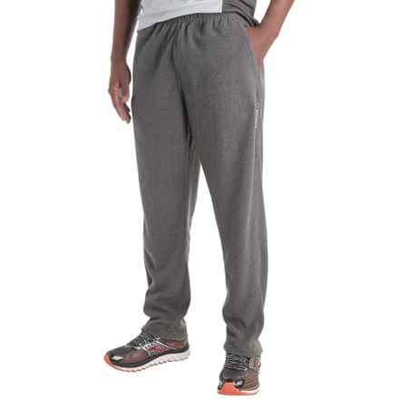 Reebok Light Microfleece Pants - Slim Fit (For Men) in Charcoal Heather - Closeouts