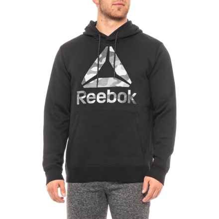 Reebok Luxe Hoodie (For Men) in Black - Closeouts