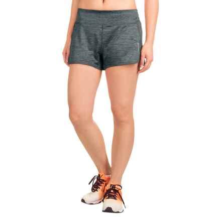 Reebok Marathon Shorts (For Women) in Medium Grey Heather - Closeouts