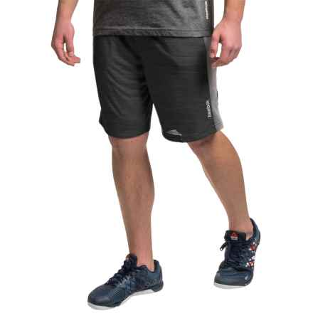 "Reebok McGregor 9"" Shorts (For Men) in Black Heather - Closeouts"