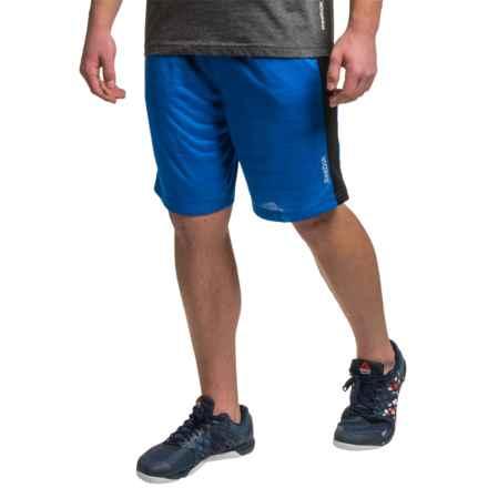 "Reebok McGregor 9"" Shorts (For Men) in Vital Blue Heather - Closeouts"