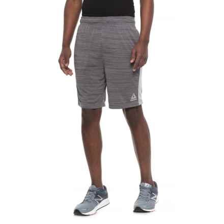Reebok McGregor Slim Shorts (For Men) in Charcoal Heather - Closeouts