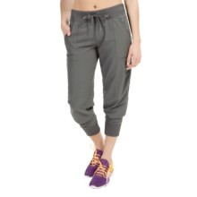 Reebok Mix Joggers (For Women) in Dim Grey - Closeouts