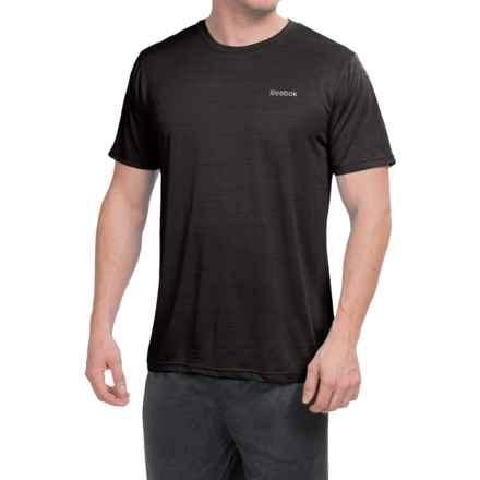 Reebok Neptune Shirt - Short Sleeve (For Men) in Black Heather - Closeouts