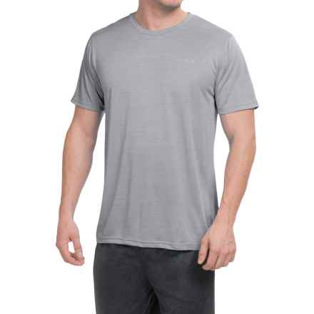 Reebok Neptune Shirt - Short Sleeve (For Men) in Grey Heather - Closeouts