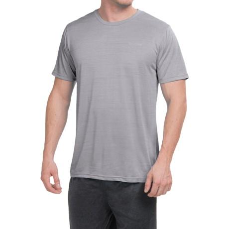 Reebok Neptune Shirt - Short Sleeve (For Men) in Grey Heather