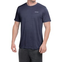 Reebok Neptune Shirt - Short Sleeve (For Men) in Navy Heather - Closeouts