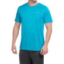Reebok Neptune Shirt - Short Sleeve (For Men) in Neon Blue Heather - Closeouts