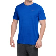 Reebok Neptune Shirt - Short Sleeve (For Men) in Supreme Blue Heather - Closeouts