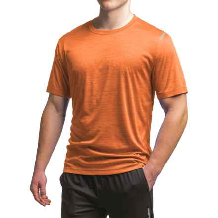 Reebok Neptune T-Shirt - Short Sleeve (For Men) in Coast Guard Orange Heather - Closeouts