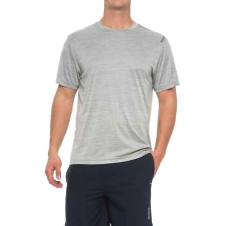 Reebok Neptune T-Shirt - Short Sleeve (For Men) in Grey Heather - Closeouts