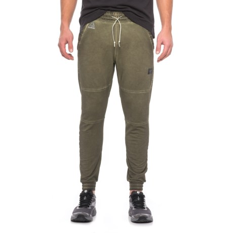 Reebok Noble Fight Vintage-Washed Joggers (For Men) in Hunter Green