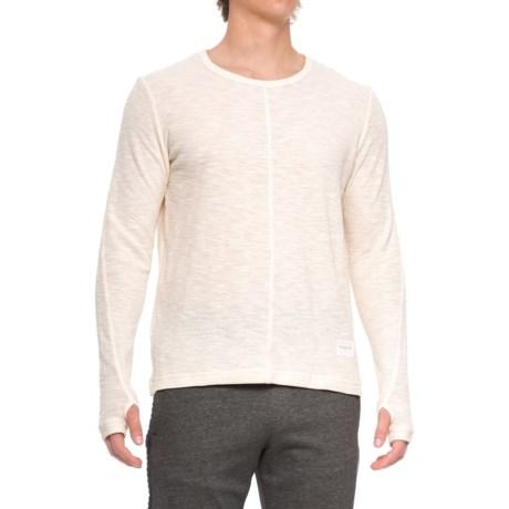 Reebok Noble Fight Waffle Shirt - Long Sleeve (For Men) in Nondye