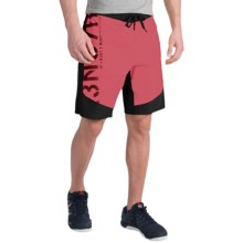 Reebok ONE Series S7R3NG7H Boardshorts (For Men) in Neon Cherry/Black - Closeouts