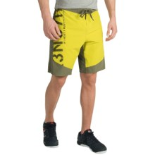 Reebok ONE Series S7R3NG7H Boardshorts (For Men) in Vital Green/Modern Olive - Closeouts