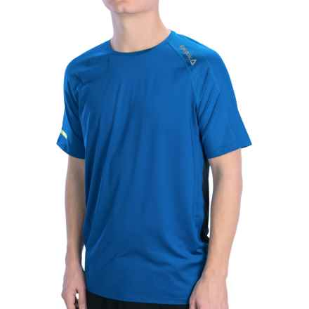 Reebok One Series T-Shirt - Short Sleeve (For Men) in Impact Blue/Reebok Navy - Closeouts