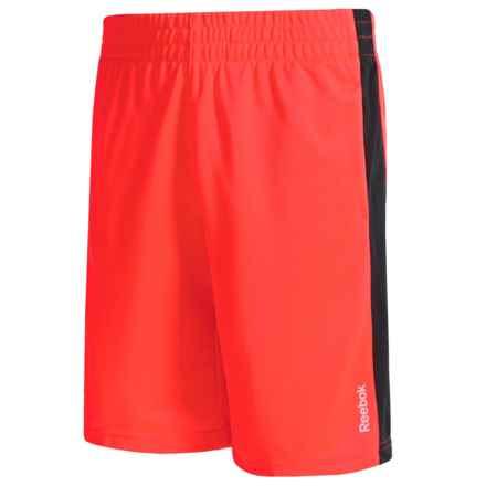 Reebok Original Knit Shorts (For Big Kids) in Neon Orange - Overstock