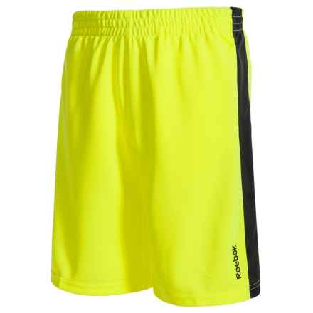 Reebok Original Knit Shorts (For Big Kids) in Safety Yellow - Overstock