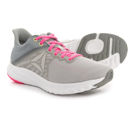 Reebok OSR Distance 3.0 Running Shoes (For Women) in Skull Grey/White/Flat Grey/Poison Pink/Solar Yello