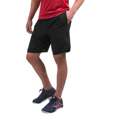 Reebok Paceline Training Shorts (For Men) in Black - Closeouts