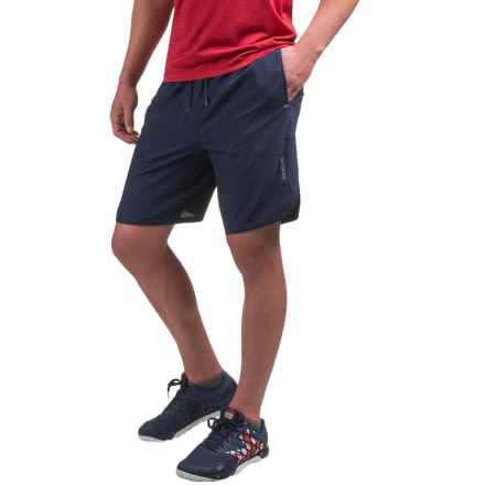 Reebok Paceline Training Shorts (For Men) in Navy - Closeouts