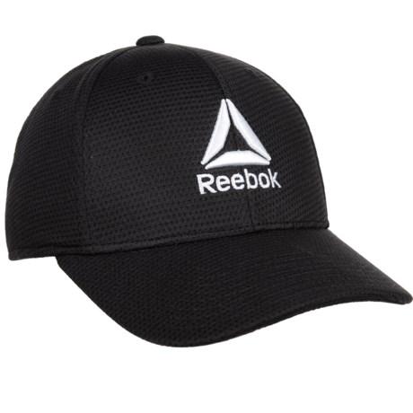 Reebok Performance Pique Mesh Cap (For Men) in Black