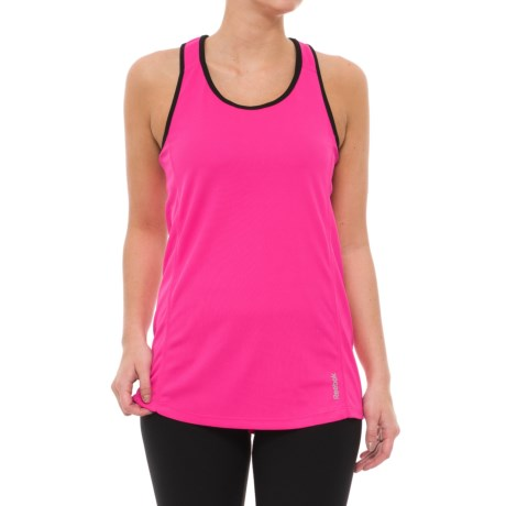 Reebok Play Tank Top (For Women) in Hot Pink