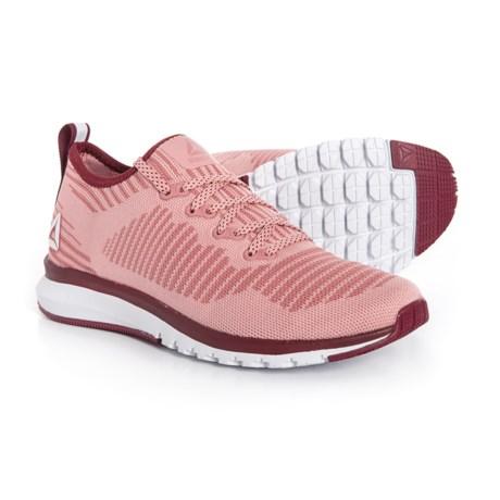4f6bf604497 Reebok Print Smooth 2.0 Ultraknit Running Shoes (For Women) in Chalk  Pink Urban