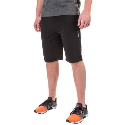 Reebok Pryor Tapered Shorts (For Men) in Black - Closeouts