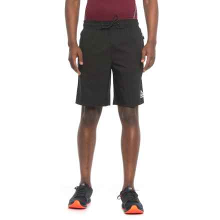 Reebok Quad Buster Shorts - Slim Fit (For Men) in Black - Closeouts