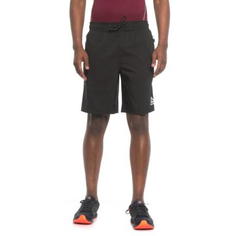 Reebok Quad Buster Shorts - Slim Fit (For Men) in Black