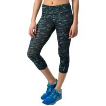 Reebok Remaster Capri Leggings (For Women) in Dazzling Blue - Closeouts