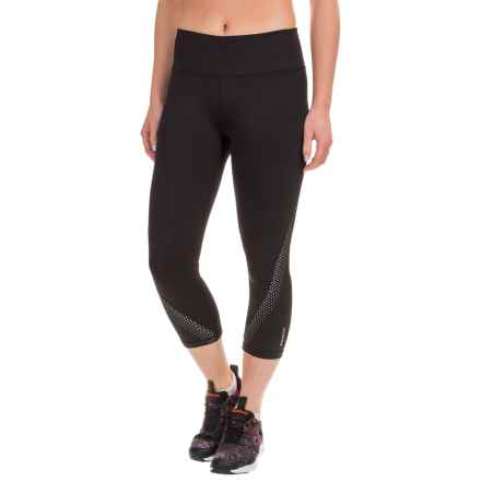 Reebok Sculpt Capris (For Women) in Black - Closeouts