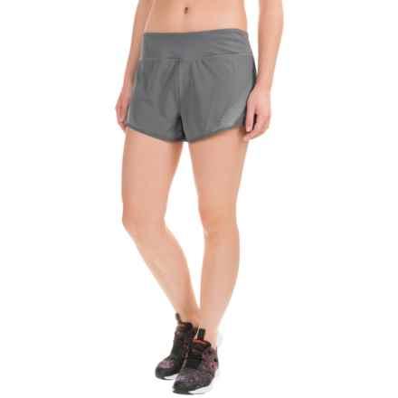 Reebok Sculpt Shorts (For Women) in Medium Grey - Closeouts