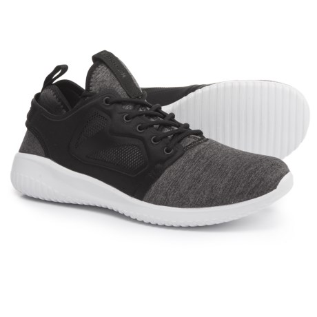 Reebok Skycush Evolution Lux Walking Shoes (For Women) in Black/White