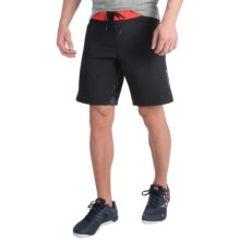 Reebok Spartan Mud Shorts (For Men) in Black - Closeouts