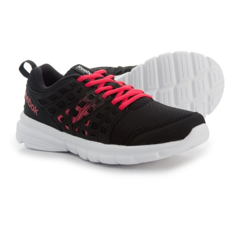 Reebok Speed Rise Running Shoes (For Women) in Black/Blazing Pink/White