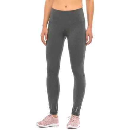 Reebok Sport Leggings - High Rise (For Women) in Charcoal Heather - Closeouts