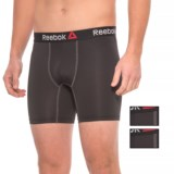 Reebok Stretch Boxer Briefs - 3-Pack (For Men)