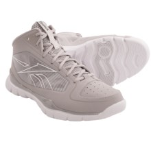 Reebok SubLite Pro Rise Basketball Shoes (For Men) in Tin Grey/White - Closeouts