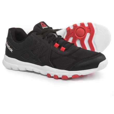 Reebok Sublite Train 4.0 L MT Training Shoes (For Men) in Stealth Black/Ash Grey/Riot - Closeouts