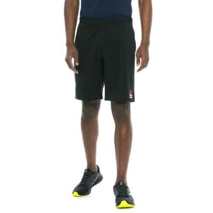 Reebok Super Nasty Speed II Shorts (For Men) in Black - Closeouts