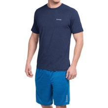 Reebok Super Sonic 2.0 Shirt - Short Sleeve (For Men) in Navy Heather - Closeouts