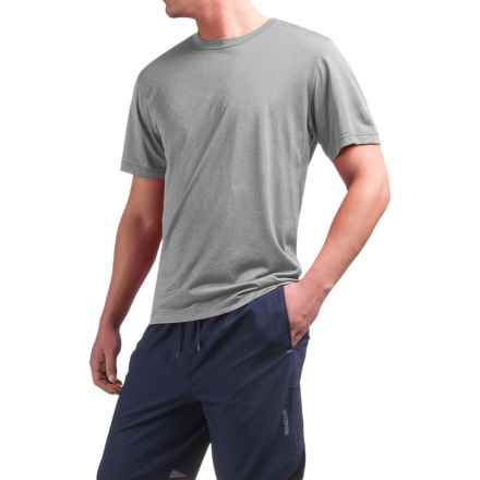Reebok Super Sonic Shirt - Short Sleeve (For Men) in Grey Heather - Closeouts