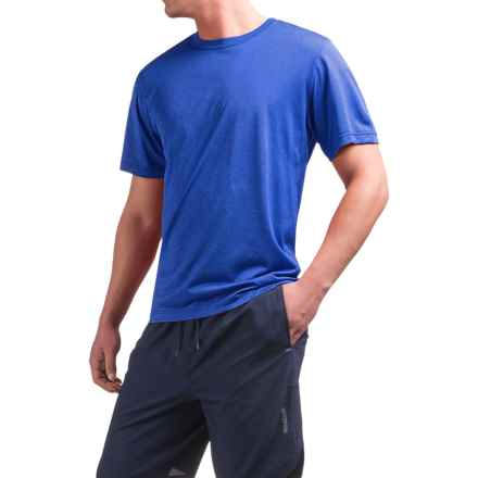 Reebok Super Sonic Shirt - Short Sleeve (For Men) in Royal Heather - Closeouts