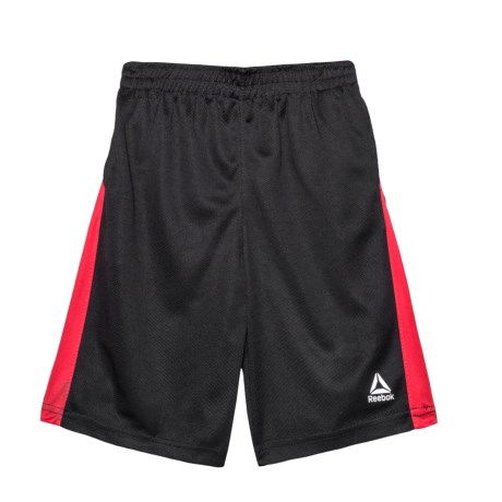 Reebok Swift Interlock Shorts (For Big Boys) in 001 Black