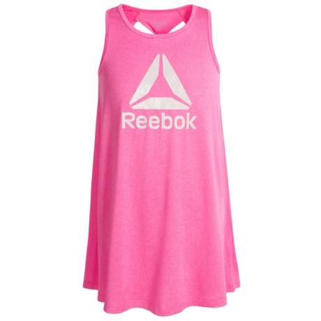 Reebok Swing Dress - Sleeveless (For Big Girls) in Heather Pink