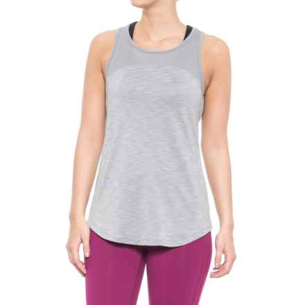 Reebok Tempo Singlet - Sleeveless (For Women) in Silver Sconce - Closeouts